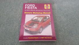 Ford Fiesta (2002 to 2008) Petrol & Diesel Owners Workshop Manual