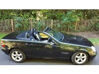 MB SLK, , 200K, Convertible, Black, Automatic, 1 Year Warranty.