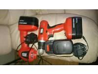 Black & Decker Electric Screwdriver And Flashlight