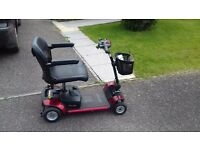 RED GOGO ELITE TRAVELLER MOBILITY SCOOTER Newton Abbot £ 300.00 ovno can deliver