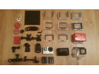 GoPro HERO4 BLACK + GoPro Touch LCD excellent condition (just for one more day)