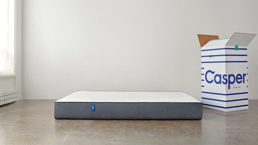 exdisplay 2018 model casper king size 5ft 150x200cm memory foam mattress   simba   in Swansea   Gumtree