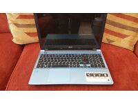 Acer Aspire E15 laptop - i5 processor, 4GB RAM, 1TB HDD