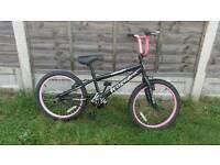 """Girls bmx 20"""" wheel bike"""