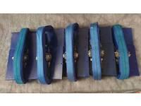 Laminate flooring ratchet clamps