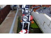 kawasaki eliminator 125 very nice bike clean and reliable just had a full service mot till june /17