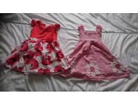 Girls dresses 3-4yrs