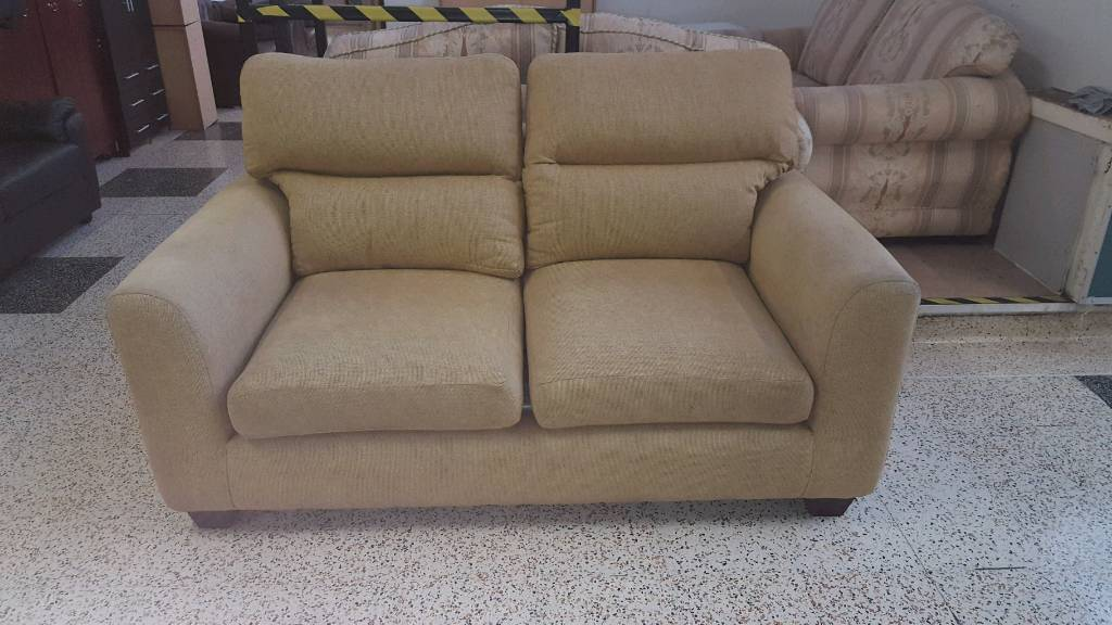 golden beige scs sofa