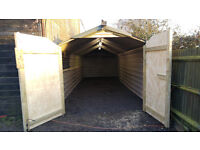 Barn Workshop Garage Inside Parking 30ft x 10ft Tring Area Light and Power