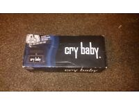 Dunlop CryBaby pedal boxed as new