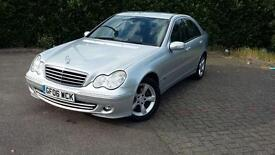 MERCEDES BENZ C CLASS AVANTGARDE IMMACULATE CONDITION AUTOMATIC. 1 YEAR MOT. DIESEL