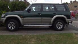 Nissan Patrol GR SE TD auto