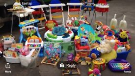Joblot baby items