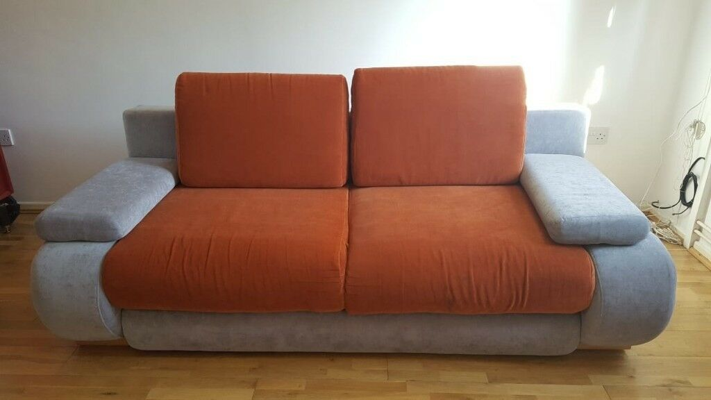Double Sofa Bed With Storage Perfect Condition