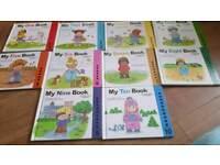 childrens learning maths books set
