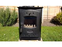WOODBURNING MULTIFUEL STOVE - Used Excellent condition
