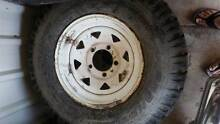 Toyota Land Cruiser 5 stud rims and tyres Minden Somerset Area Preview