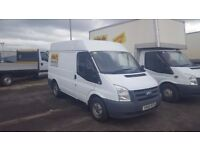 2010-60 plate transit 260 swb semi high roof side door fully panneled out plus vat