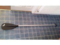 Aluminium 3 piece stand up paddle board paddle surf boat kayak canoe paddle (2 available)
