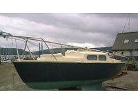 Yacht,sailing,boat,fishing,cabin cruiser,project,19ft,18ft,bilge keels,day boat,dinghy,cheap,nice