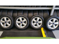 Ford Genuine 16 alloy wheel + 4 x tyres 205 55 16 Arrowspeed