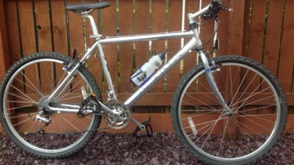 Marin Nail Trail All Highly Polished Aluminium Mountain Bike.