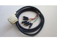 Cambridge Audio SCART to Component Gold Premium lead