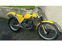 SUZUKI BEAMISH 325 TRIAL BIKE TRIALS road registered TWIN SHOCK RL TY BSA