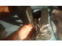 [Selling] Black Strike Motorcycle Boots (UK Size 11 - Mens)
