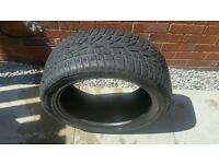 Dunlop winter sport tyre part worn 225/45/17
