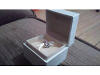 Pandora charm Mrs Potts and chip in own box