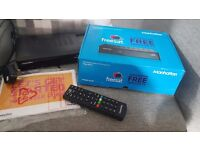 Manhattan Freesat HD Box in box used once Catch Up TV Too