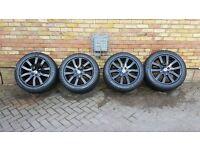 "Genuine 20"" Range Rover sport wheels and BRAND NEW WINTER TYRES **Bargain Price**"