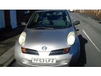 Silver Nissan Micra for Sale