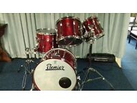 "PREMIER XPK SHELL PACK with TOM HOLDERS (20"" BASS DRUM)"
