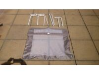 Lindam folding bedrail - beige , good condition hardly used.