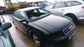 2002 AUDI A4 SE, 2.0 PETROL, BREAKING FOR PARTS ONLY, POSTAGE AVAILABLE NATIONWIDE