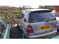 mercedes a160 automatic. 2000. most parts available. price is for one wheel nut