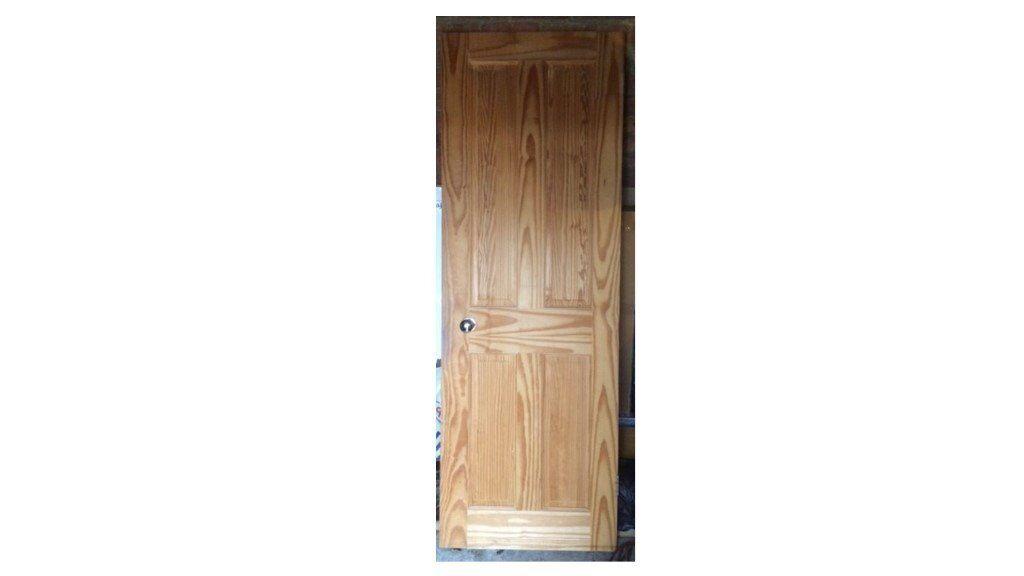INTERNAL PINE DOOR WITH SILVER DOOR KNOBS | in Slough, Berkshire ...
