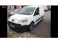 2011 60reg Peugeot Partner 1.6 Hdi White Alloys