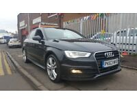 AUDI A3 1.6TDI S-LINE*AUTOMATIC**IMMACULATE CONDITION**LOOKS STUNNING**FINANCE AVAILABLE**MUST SEE**