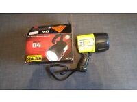 Sunlight D4 rechargeable scuba diving torch