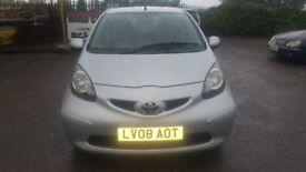 Toyota Aygo 1L petrol automatic