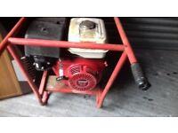 Honda gx 490 welder generator 110 and 240.little use