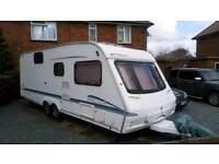 Swift bowmere 6berth dealer special twin axle caravan superb throughout