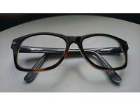 Large fashionable unisex glasses from Specsavers