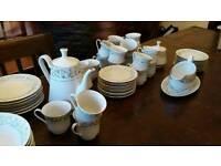 Vintage dinner set/tea set