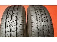 175 65 14 2 x tyres Hifly Super2000