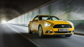 Luxury Mustang Wedding Care Hire