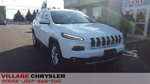 2016 Jeep Cherokee LIMITED V6 LEATHER, NAVI, BACKUP CAMERA